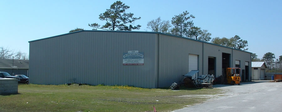 Bircher Inc. Machine Shop building